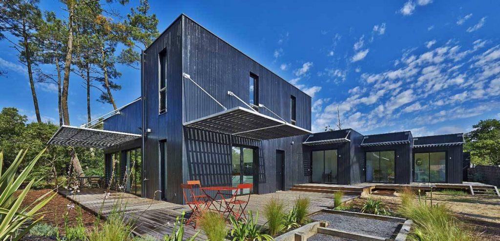 architecture écologique durable-bois-bardage-ossature-maison-habitat-logement-architecte