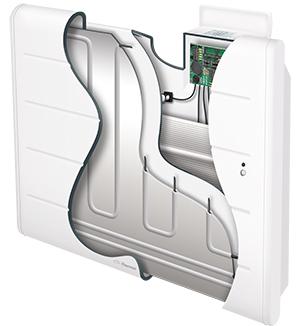 radiateur à inertie corps de chauffe en aluminium